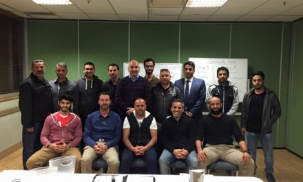 ALFA meeting tonight resulting of the draw of the community teams and the club's participating in the Arab Bank Cup 2015