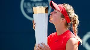 Elina Svitolina downs Wozniacki to claim Rogers Cup title