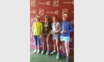 Doubles duo wins tennis tournament