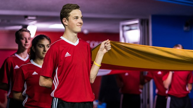 Flagbearer roles for Special Olympics athletes at Russia 2017